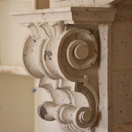 Close Up View of Corbel