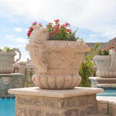 Cantera Stone Landscape Pot