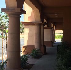 Doric Tapered Stone Columns
