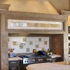 Stone Range Hood Surround