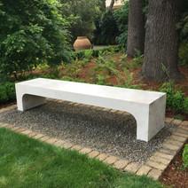 Modern Limestone Bench