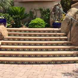 Cantera Stone Stair Treads