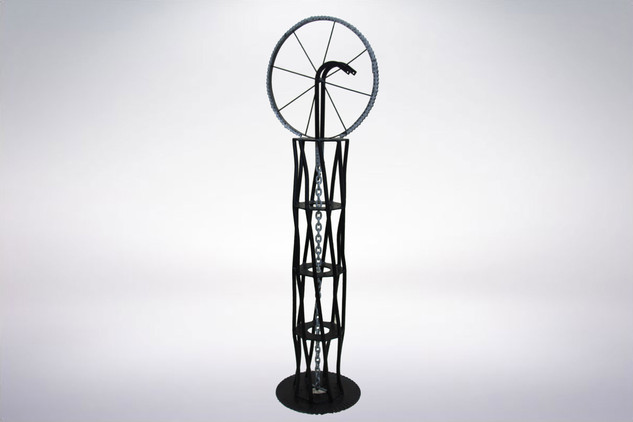Abstract Wheel and Chain Pedestal.jpg