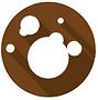 circula brown mold icon