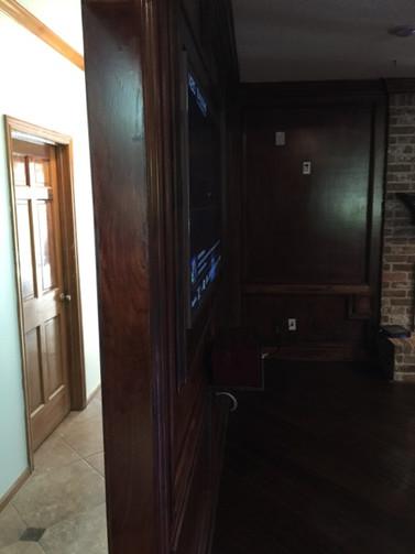 custom entertainment room