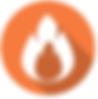 circular fire logo