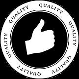 black circula quality icon