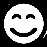black smile icon