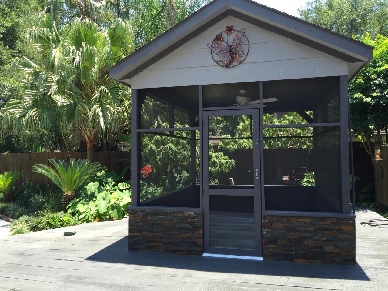 custom outdoor pet house