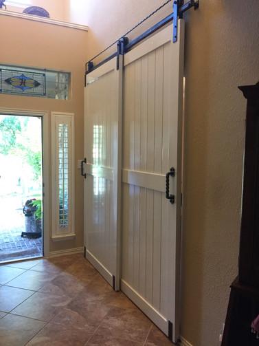 white sliding barn door1