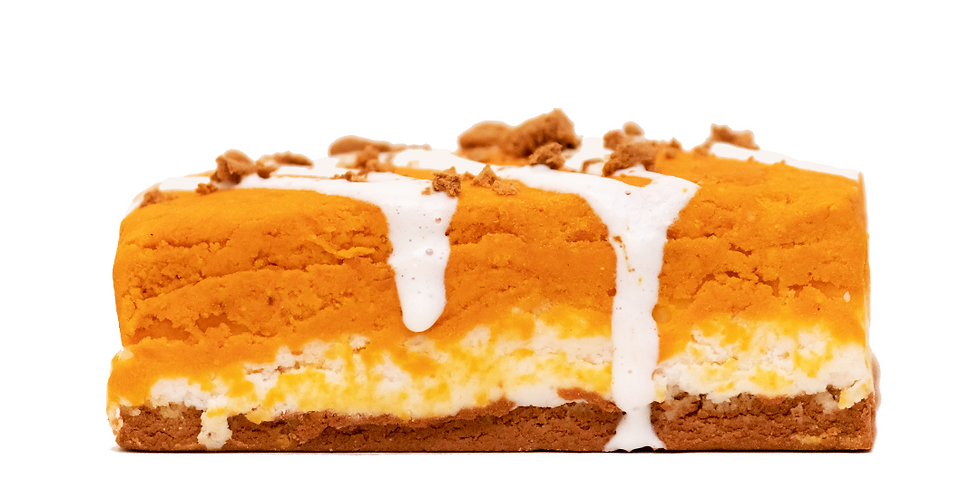 Pumpkin Cheesecake Bubble Bar