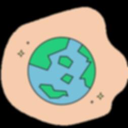 values illustration - environment-friend