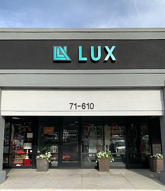 Luxury Consignment storefront in Rancho Mirage, CA