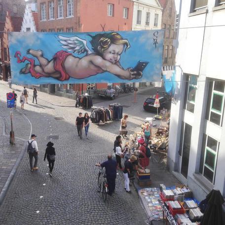 Streetfest Langestraat Brugge