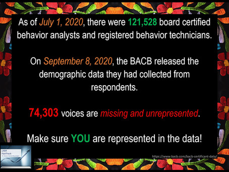 Newly Released Demographic Data for the BACB