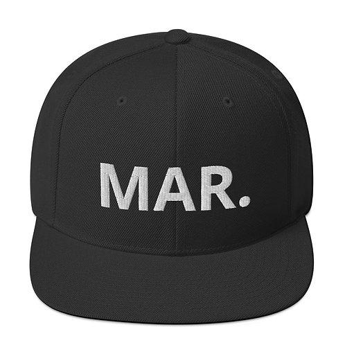 MAR. Snapback Hat