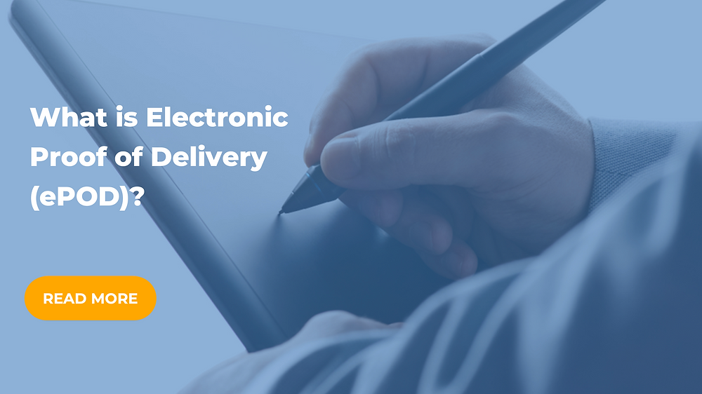 what is electronic proof of delivery