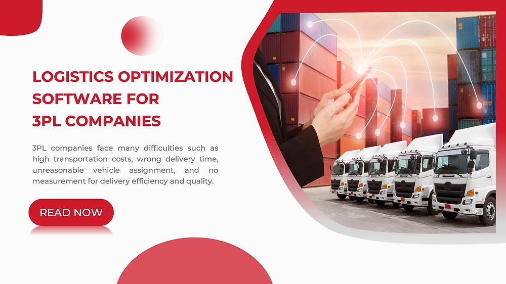 logistics optimization software for 3pl companies