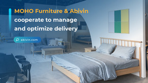 MOHO Furniture and Abivin cooperate to manage and optimize delivery