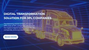 Digital Transformation Solution For 3PL Companies