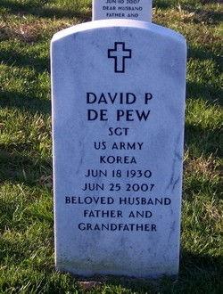 David Philip DePew tombstone at