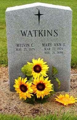 Mel Watkins Tombstone Picture