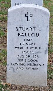 Stuart Ballou Tombstone Image