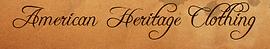 American Heritage Clothing logo