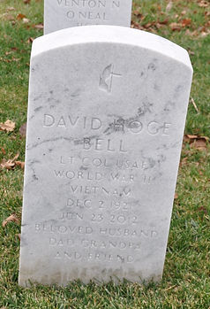 David Bell Tombstone Image