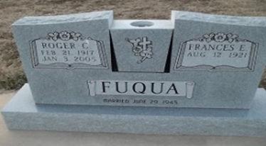 Roger Fuqua Tombstone Image