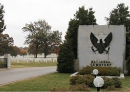 Jefferson Barracks National Cemetey Entrence Pic