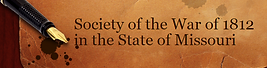 Society of the War of 1812 in the State of Missouri logo
