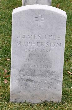 James McPherson Tombstone Image
