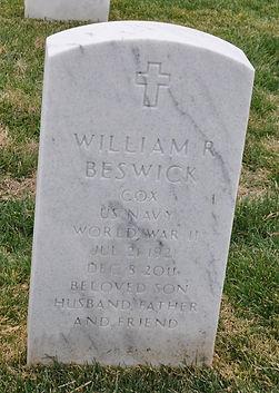 Bill Beswick Tombstone Image