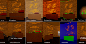 SeeingVR: A Set of Tools to Make Virtual Reality More Accessible to People with Low Vision