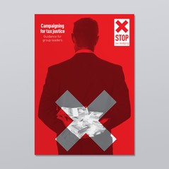 STOP! Tax Dodging identity and brochure