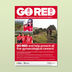 Go Red trek poster and digital assets