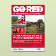 Go Red trek poster and digital assets