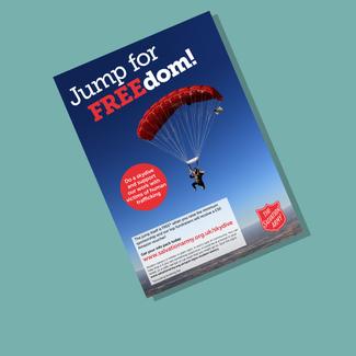 Parachute jump promotion