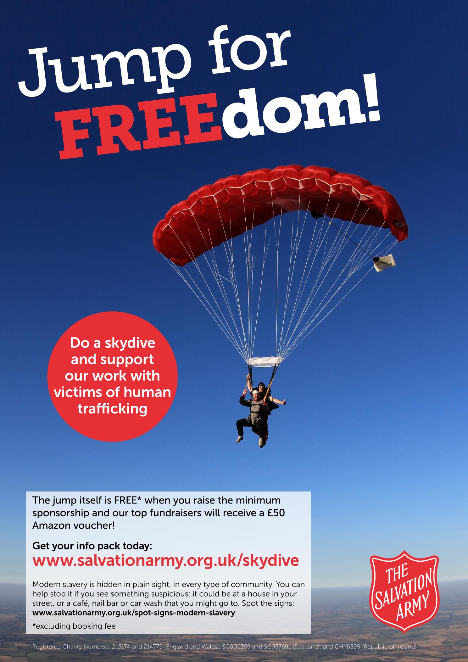 SA01 parachute poster no print