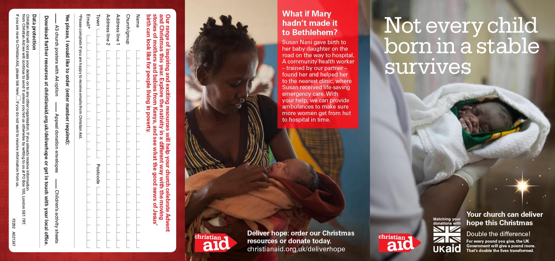 J2962-Christmas 2014 Promo leaflet press inserts AW-1