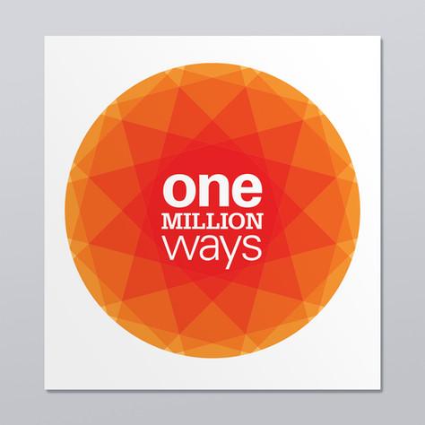 One million ways visual identity