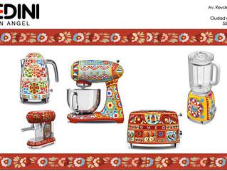 SMEG Dolce & Gabbana arte y técnica para crear electrodomésticos