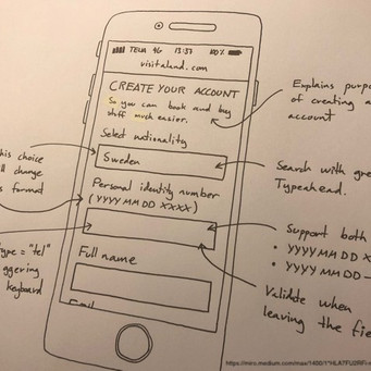 Wireframing: how to improve product design with a pencil