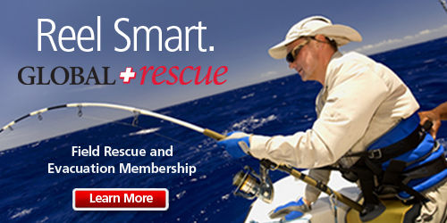 Global Rescue, fishing the americas