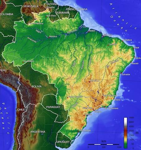 Amazon Basin Map