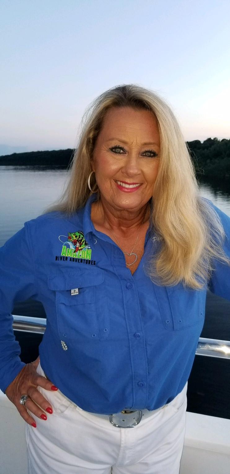 Pamelah Howard, owner Global Angling Tours