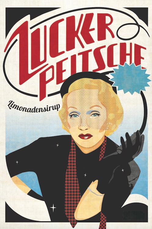 """Plakat """"Frau Erblich"""" A0"""