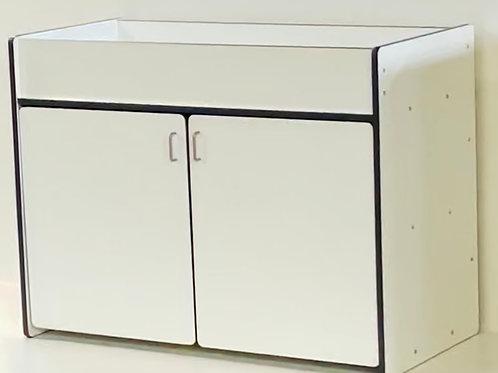 Deluxe Diaper Changer Storage Cabinet