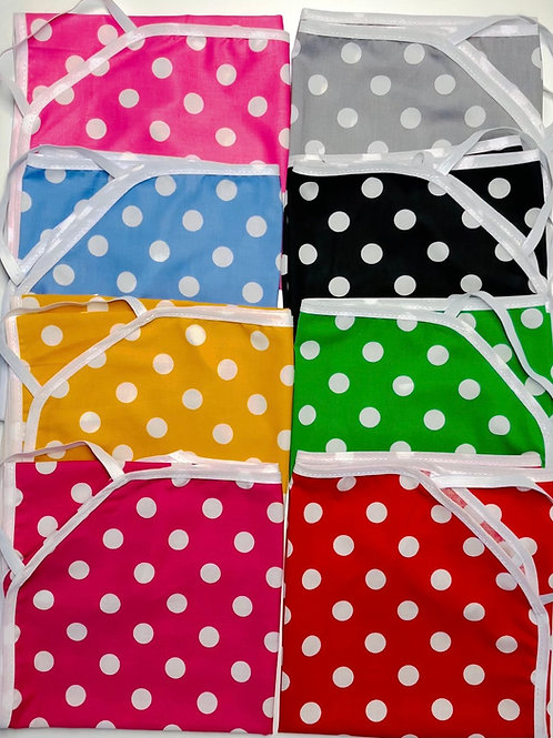 Dotted cot Sheets